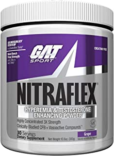 GAT - Nitraflex 运动前补品 Grape 30.00