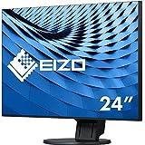 Eizo 艺卓 FlexScan LED 显示器 (61.2 厘米/24.1 英寸, 350 ANSI 流明) 黑色 60cm (23,8 Zoll)