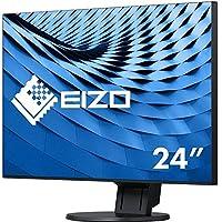 Eizo FlexScan 61.2 厘米(24.1 英寸) LED 显示器(350 ANSI 流明) 黑色 60 cm (23,8 Zoll)