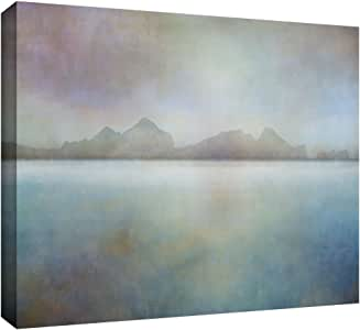 """ArtWall Cora Niele 'Landscape Iceland Westman' Gallery Wrapped Canvas Print, 24 by 36"""""""