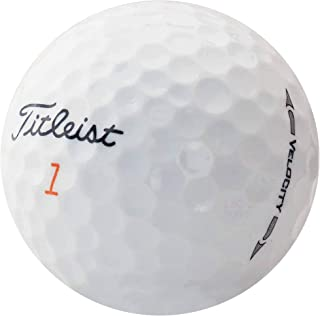lbc-sports Titleist Velocity 高尔夫球 - AAAA - AAA - 白色 - 湖球 - 使用的高尔夫球