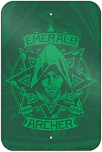 """GRAPHICS & MORE 电视剧 Emerald Archer Home Business Office 标志 """"Multi"""" 6"""" x 9"""" SIGN.9X6.WBGAM008.Z005147_8"""