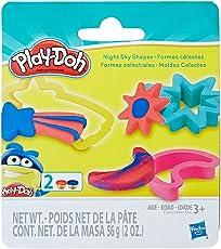 Hasbro 孩之宝 Play-Doh 培乐多彩泥 妙趣小套装 夜晚天空形状 E1500