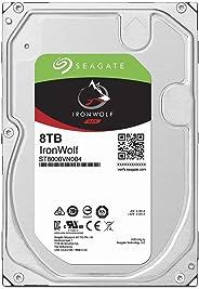Seagate 巴拉Cuda SSDST8000VN004 HDD : 高耐久・NAS向け HDD : 8TB