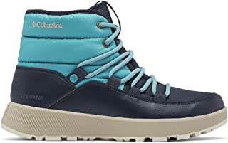 Columbia 女士 Slopeside Village Omni-Heat 中筒雪地靴