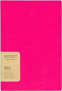 Daycraft 德格夫 旗艦系列筆記本 - A5, 桃紅色