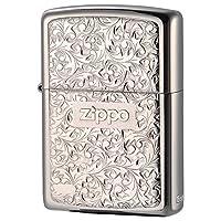 Zippo 之宝 美国防风打火机礼品 日版 KR7 银色
