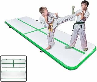Popsport 空气轨道体操翻滚垫系列气泡轨道体操垫气垫 适合体操训练的气垫