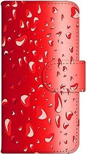 智能手机壳 手册式 对应全部机型 印刷手册 wn-351top 套 手册 水滴 UV印刷 壳WN-PR061411-MX AQUOS Xx2 502SH B款