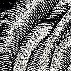 SANGETSU 窗帘 防火 可洗 遮光3级 (两开用)2倍褶皱 尺寸宽度3000mm 玫瑰图案黑色 EK8173 黑色 サイズ:幅150x丈210cm EK8173-61
