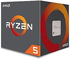 AMD ryzen 锐龙5 1600处理器 配有幽灵Wraith Spire散热器(YD1600BBAEBOX)