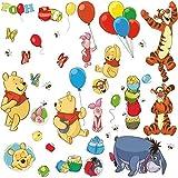 York Wallcoverings RMK1498SCS RoomMates Winnie the Pooh - Pooh & Friends Peel &,