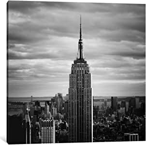 iCanvasART 11650-1PC3-12x12 NYC Empire Canvas Print by Nina Papiorek, 0.75 x 12 x 12-Inch