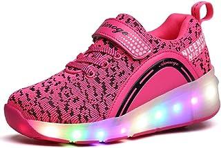 SDSPEED 儿童滚轮滑板鞋单轮鞋运动鞋 LED 和非 LED
