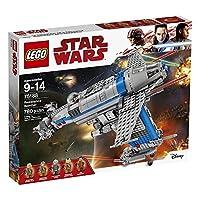 【爆款直降】【12月新品】 LEGO 乐高 Star Wars 星球大战系列 抵抗组织轰炸机 75188 9-14岁 积木玩具
