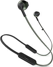 JBL TUNE205BT 蓝牙耳机 附带麦克风/半入耳式 绿色 JBLT 205BT GRN