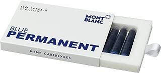 モンブラン インクカートリッジ 8本入り 正規輸入品 パーマネントブルー