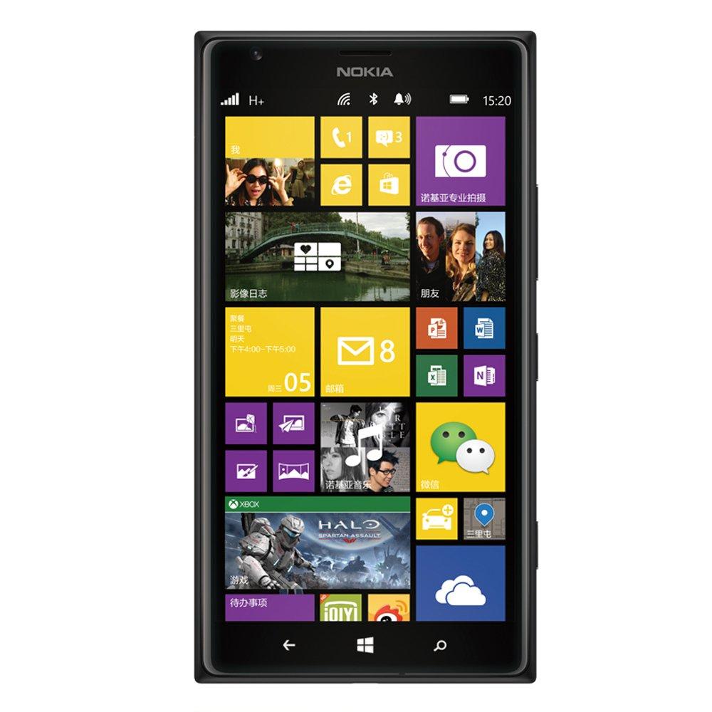 nokia 诺基亚lumia1520 3g手机(黑)wcdma/gsm,6英寸1080p全高清屏幕