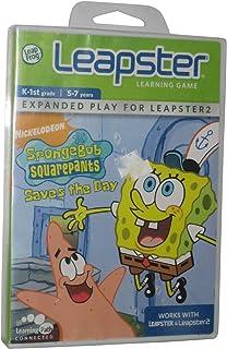 LeapFrog Leapster Learning Game SpongeBob SquarePants Saves the Day