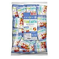 YumEarth Gummy Bears, Assorted Flavors, 0.7 Ounce Snack Packs (Pack of 50)