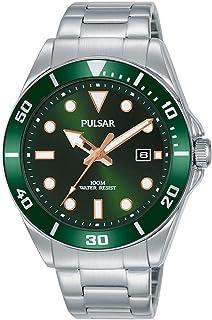 SEIKO 精工 UK Limited – EU 男士模拟日本石英套潜水员手表不锈钢表链不锈钢表带 PG8301X1