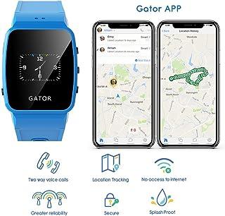 TechSixtyfour - 鳄鱼儿童及老年人防溅智能手表8GT0304EU  UK & EU 蓝色