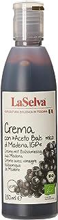 LaSelva イタリア産 有機バルサミコクリーム 黒 250ml
