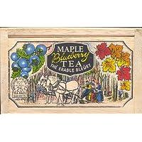 THE metropolitan 茶公司62wd-618b-109Maple 蓝莓25茶袋每 IN 木盒