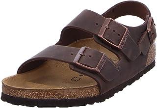 Birkenstock 米兰诺天然皮革,中性成人凉鞋