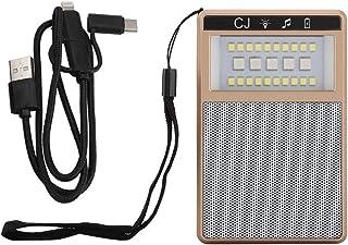 koulate 迷你无线扬声器盒灯,便携式 USB LED 蓝牙扬声器灯,适用于打电话、汽车、家庭、办公室户外露营或野餐