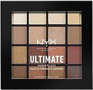 NYX Professional Makeup Ultimate Shadow Palette幻彩16色眼影盘,Warm Neutrals,温暖大地色