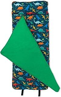 Wildkin 原创午睡垫带枕头,适合幼儿男孩和女孩,尺寸 127.6 x 50.8 x 3.8 厘米,适合日托和学龄前儿童,妈妈选择*得主,不含 BPA,橄榄儿童(侏罗纪恐龙)