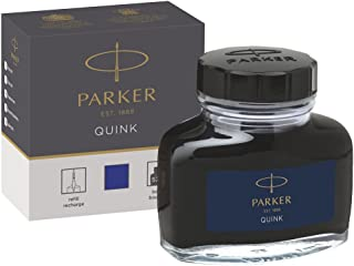 Parker 派克 Quink 鋼筆墨水 透明塑料包裝 57 毫升 in Box-Packung 藍色