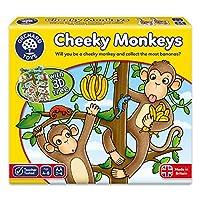 Orchard Toys 桌面游戏 无耻猴(亚马逊进口直采,英国品牌)