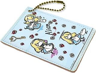 童话系列 04 不可思议国的爱丽丝角色钱包 蓝色 (图画设计)