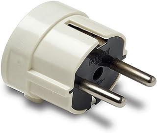 Famatel 1102 – Schuko 4.8毫米插孔插头 TT 输出侧面 16 a-250 V 白色