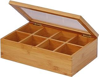 Oceanstar 竹子茶盒,自然色