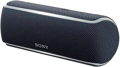 Sony 索尼 SRS-XB21 便携式无线蓝牙音箱 扬声器 IP67防水设计便携迷你音响 黑色