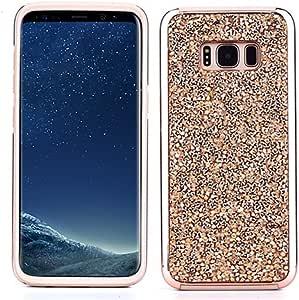 三星 Galaxy Bling 手机壳水钻手机套附赠袋 Galaxy S9 Plus 玫瑰金
