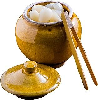 山下工艺(Yamashita kogei) 九州民间艺术 糖釉 φ8×H8cm 日本制造 小鹿田烧 茶壶451432