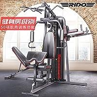 力动(RIDO) 综合训练器多功能 家用健身房大型健身器材商用组合力量运动训练器械 三人站训练器TG60+上门安装