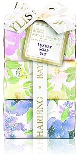 Baylis & Harding Royale 花束肥皂套装 - 3 件装