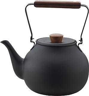 茶壶 茶壶 黑色 大 CHA-6