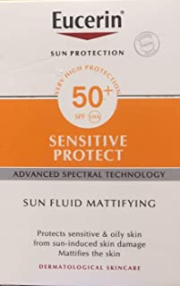 Eucerin  面部防曬霜 SPF 50+, 50 ml
