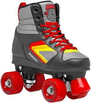 Roces 550041 型号 Kolossal 溜冰鞋,美码 7M/9W,黑色/灰色/黄色
