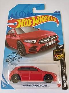 Hot Wheels 2020 Nightburnerz '19 Benz A 级,红色 194/250