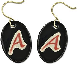 Dawkins A 适合雅典主义陶瓷耳环 - 3.18 cm 高
