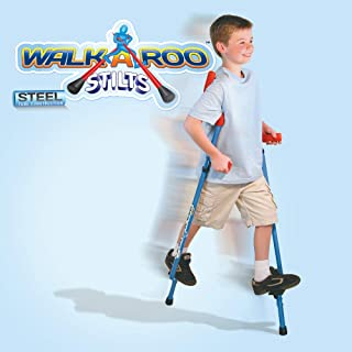 Air Kicks 原创 Walkaroo 钢制静音设计,符合人体工程学设计,轻松平衡步行,各种颜色(蓝色或红色)