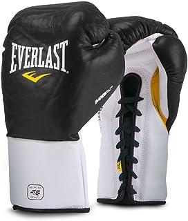 Everlast Mx Pro Fight Gloves 8 盎司黑色 Mx Pro Fight 手套