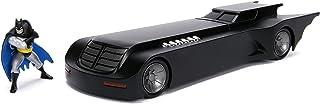 Jada 玩具1: 24比例 动画系列蝙蝠压铸车 带蝙蝠侠公仔